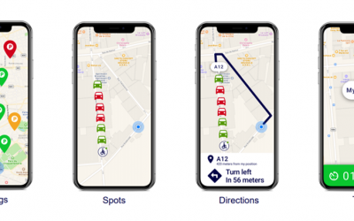 Swipe right – here's your parking spot!